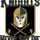 LV Golden Knights Never Die 2 by dontpanictees