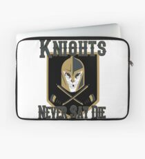 LV Golden Knights Never Die 2 Laptop Sleeve