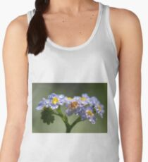 Forget-Me-Not with Tears Women's Tank Top