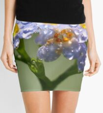 Forget-Me-Not with Tears Mini Skirt