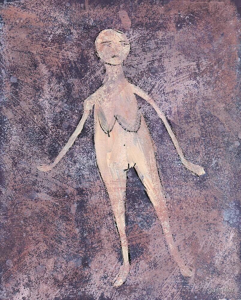 Primitive Nude 3 by gailmiller