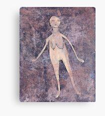 Primitive Nude 3 Canvas Print