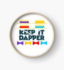 Keep It Dapper Clock