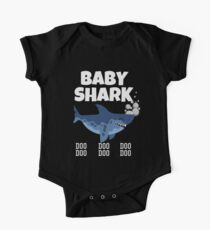 Baby Shark t shirt One Piece - Short Sleeve