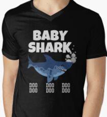 Baby Shark t shirt Men's V-Neck T-Shirt