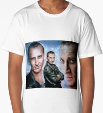 Christopher Eccleston as Dr Who Long T-Shirt