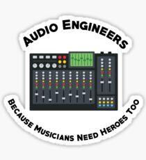 Sound Hero Sticker