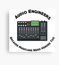 Sound Hero Canvas Print