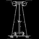 Tesla Coil Patent White by Vesaints