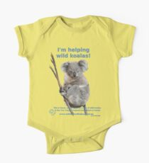 I'm helping wild koalas - Cloud One Piece - Short Sleeve