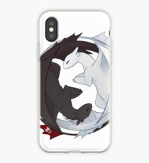 Toothless and the Light Fury iPhone Case