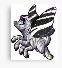 Zebra-Schmetterling Leinwanddruck