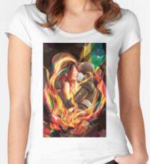 Secret Admirer Women's Fitted Scoop T-Shirt