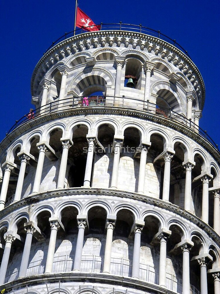 The most famous Italian Tower : Pisa by sstarlightss