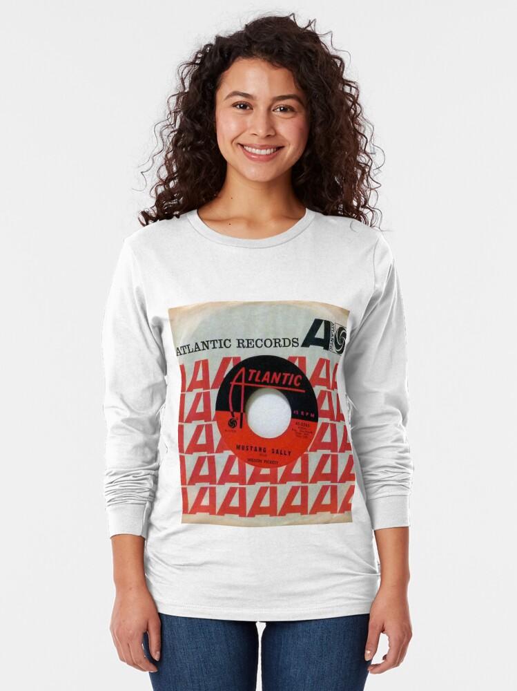 Alternate view of Wilson Pickett, Mustang Sally, Soul, Funk, 45  Long Sleeve T-Shirt