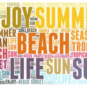 summer beach life  by hellcom
