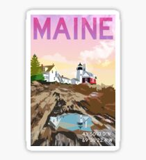 Pemaquid Point Light Sticker