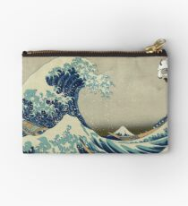The Great Wave Off Katara Studio Pouch