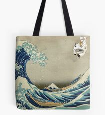 The Great Wave Off Katara Tote Bag