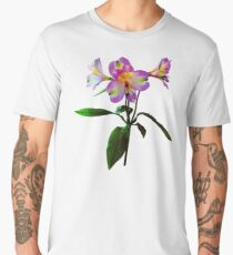 Lovely Pink Asiatic Lilies Men's Premium T-Shirt