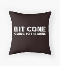"Bit Cone Going to the Mune Funny Crytocurrency T-Shirt Gift: ""Bit Cone Going to the Mune"" 