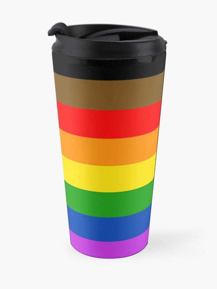 Alternative Ansicht von LGBT Stolz !! Thermobecher