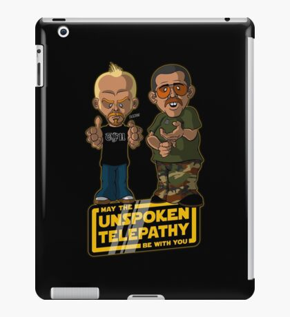 Unspoken Telepathy iPad Case/Skin