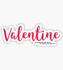 5sos Valetine Lyrics Sticker