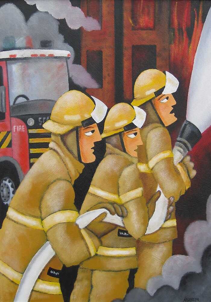 FIREFIGHTERS by Thomas Andersen