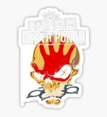 death punch Sticker
