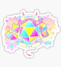 LGBT RPG - Chaotic Pan Sticker