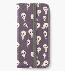Quirky Skulls iPhone Wallet/Case/Skin