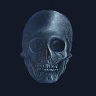 Blue Skull by Platinumfrog