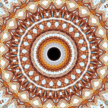 Desert Of My Dreams Mandala by wildmirror