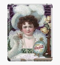 Vintage poster - Soda advertisement iPad Case/Skin
