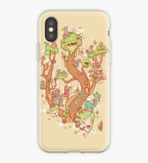 Forest Folk iPhone Case
