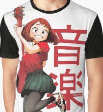 ochako uraraka guitarist big Graphic T-Shirt