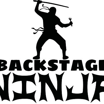 Backstage Ninja by callmeberty