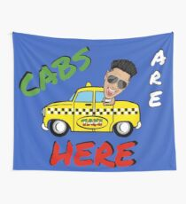 Cabs Are Here Wall Tapestry