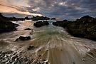 Winter Coast Flow by Robert Mullner