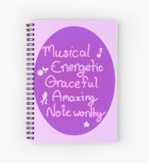 M.E.G.A.N Spiral Notebook