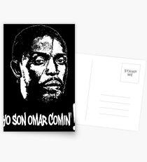 Omar Comin' Postcards