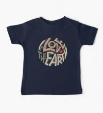 I Love the Earth Kids Clothes