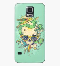 Summer skullin' Case/Skin for Samsung Galaxy