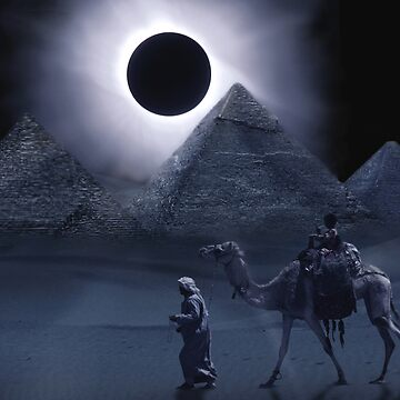 Giza Eclipse by Cliff