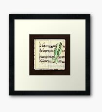 Fish czerny for example Framed Print