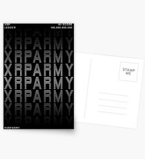 "XRP Community Design Series #6 | ""XRPARMY"" Postcards"