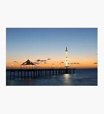 Brighton Jetty, South Australia Photographic Print