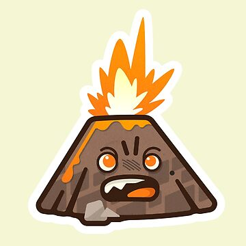 Mini Angry Vector Volcano by msharris22