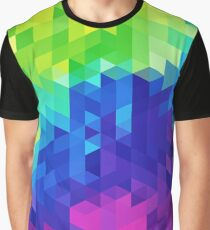 Abstract LGBT Pattern Graphic T-Shirt